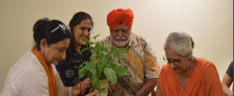 Chef Manjit Singh Gill in conversation with Gayatri & Aarti