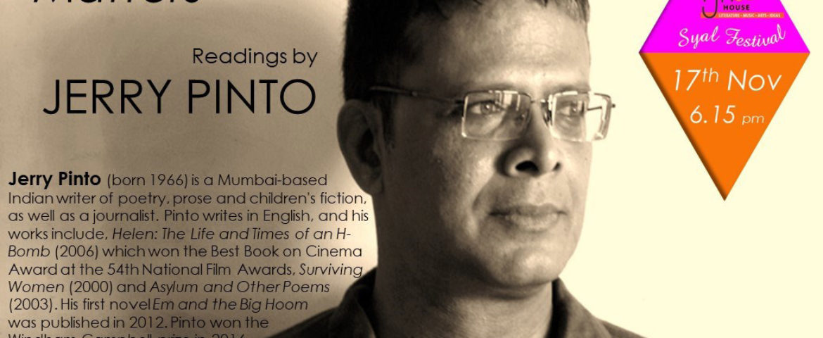 Jerry Pinto – 'Why Poetry Matters'