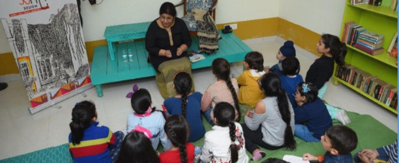 Paro Anand Workshop children Story